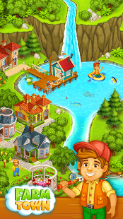 Download Farm Town: Happy farming Day & top farm game City