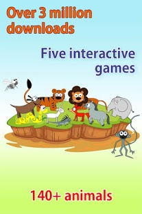 Download Kids Zoo, animal sounds & pictures, games for kids
