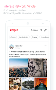 Download Vingle, Interest Network.