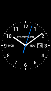 Download Free Download Analog Clock Live Wallpaper-7 apk