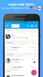 Download Free Download Text Me - Free Texting & Calls apk
