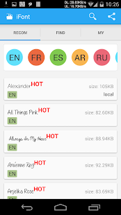 Download Free Download iFont(Expert of Fonts) apk